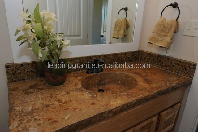 Granite Countertop With Integrated Sink, Granite Countertop With Integrated  Sink Suppliers and Manufacturers at Alibaba