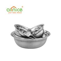 Hot Sale Small Size 14-26cm Stainless Steel Soup Basin
