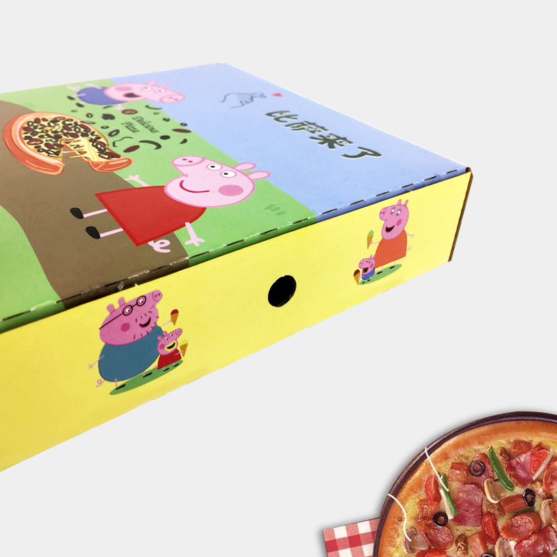 Yeni stil temizle top hediye mücevher kutuları temizle pizza kutusu, baskı bekçi kulübesi