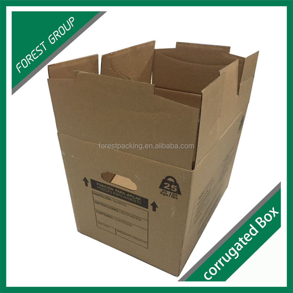 Recyclable Corrugated Paper Perforated Carton Box