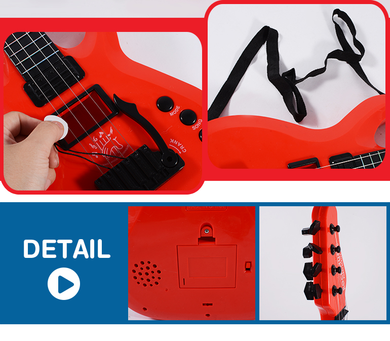 best quality better sound music instruments guitar electronic toy for childrens