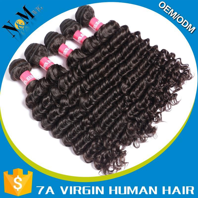 2015 New Design cow hide hair on cushion Deep Wave hair