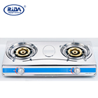 New Model (RD-GD095-1)Double Burner Stainless Steel Gas Cooker