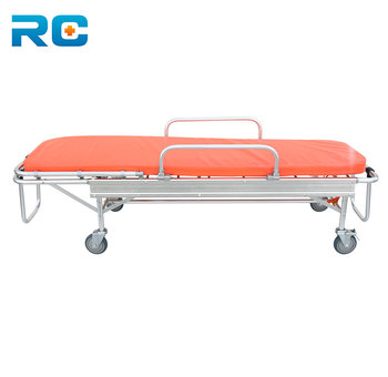 Model Hospital Aluminium Ambulance Bed Medical Emergency Stretcher Used  Ambulance Stretcher For Sale - Buy Hospital Aluminium Ambulance Bed,Medical
