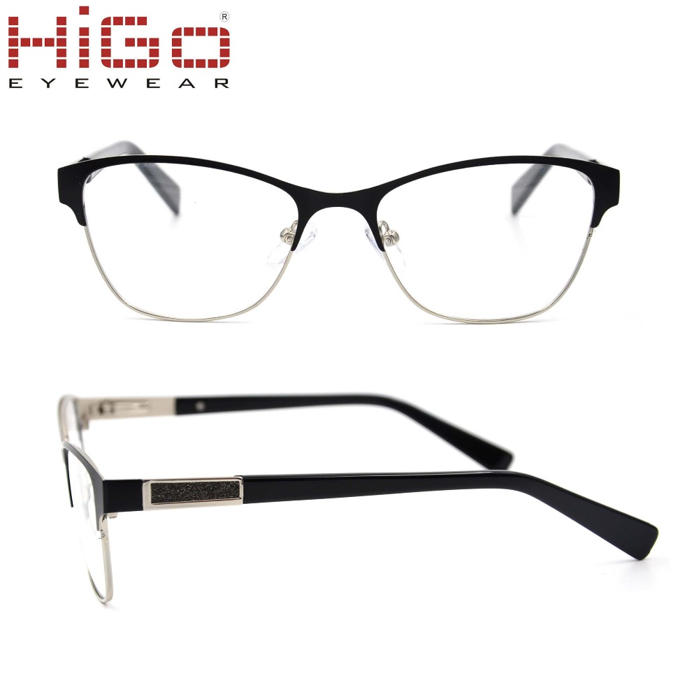 Higo Womens' Glasses 5133 American Optical Frames Part China Metal Spectacle Eyeglasses 51mm