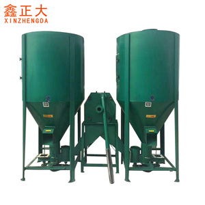 Poultry feed mill plant / poultry feed grinder and mixer / feed crushing machine