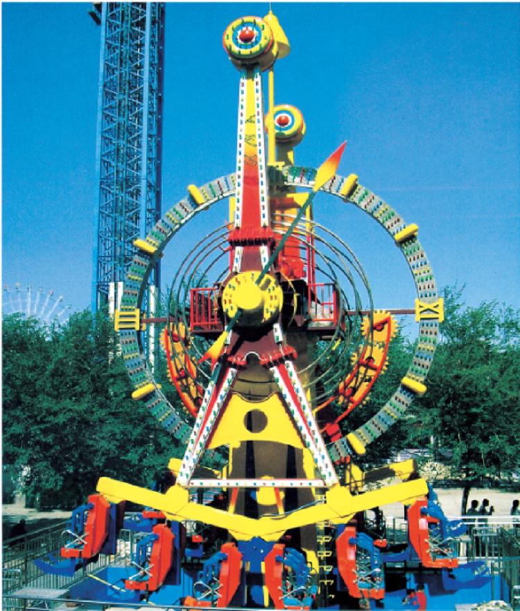 Large Amusement Park Ride Equipment Free Design For New Amusement Park