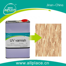 Transparent factory-price promotion wood floor uv coating