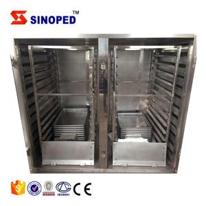 SINOPED Electricity heat source hot air circulation drying oven fruit drying machine tray dryer