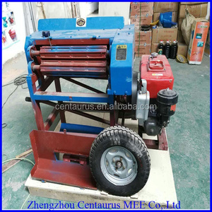 Easy to operate Banana tree stem fibre extracting machine with good price and high quality