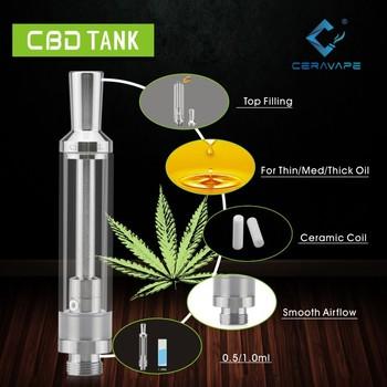 2017 newest free vape pen starter kit cbd crystal 510 oil vaporizer