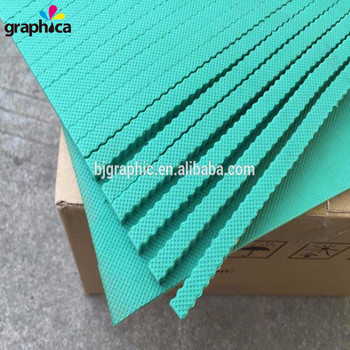 Wholesale Popular 40 Degree High Elastic Green Die Cutting Adhesive 8x300x380mm EVA Ejection Rubber Foam in Stock