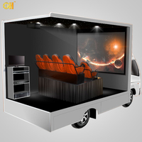 Gold Hunter Amusement 5D 6D 7D 8D 9D 11D 12D Mobile Cinema Machine Theme Park Truck Equipment Mobile 8D Cinema
