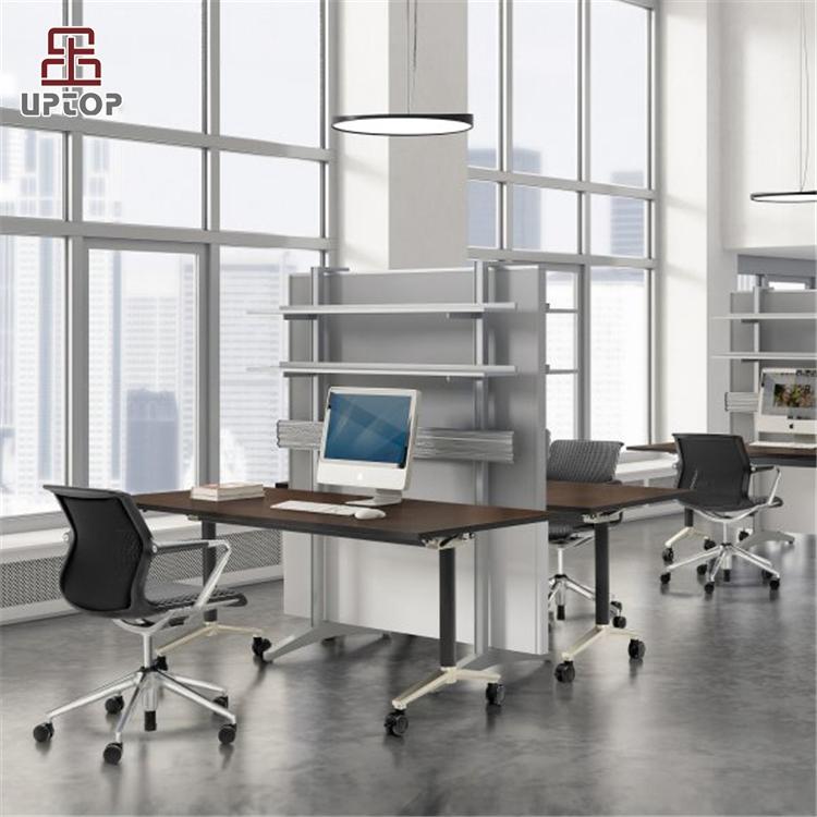 Latest Foldable Office Table Design With Wheel Sp Ft427 Product On