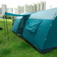 Outdoor tunnel tent family living camping 12 person tent/air big camping waterproof tube Iron+Fiberglass relief tent