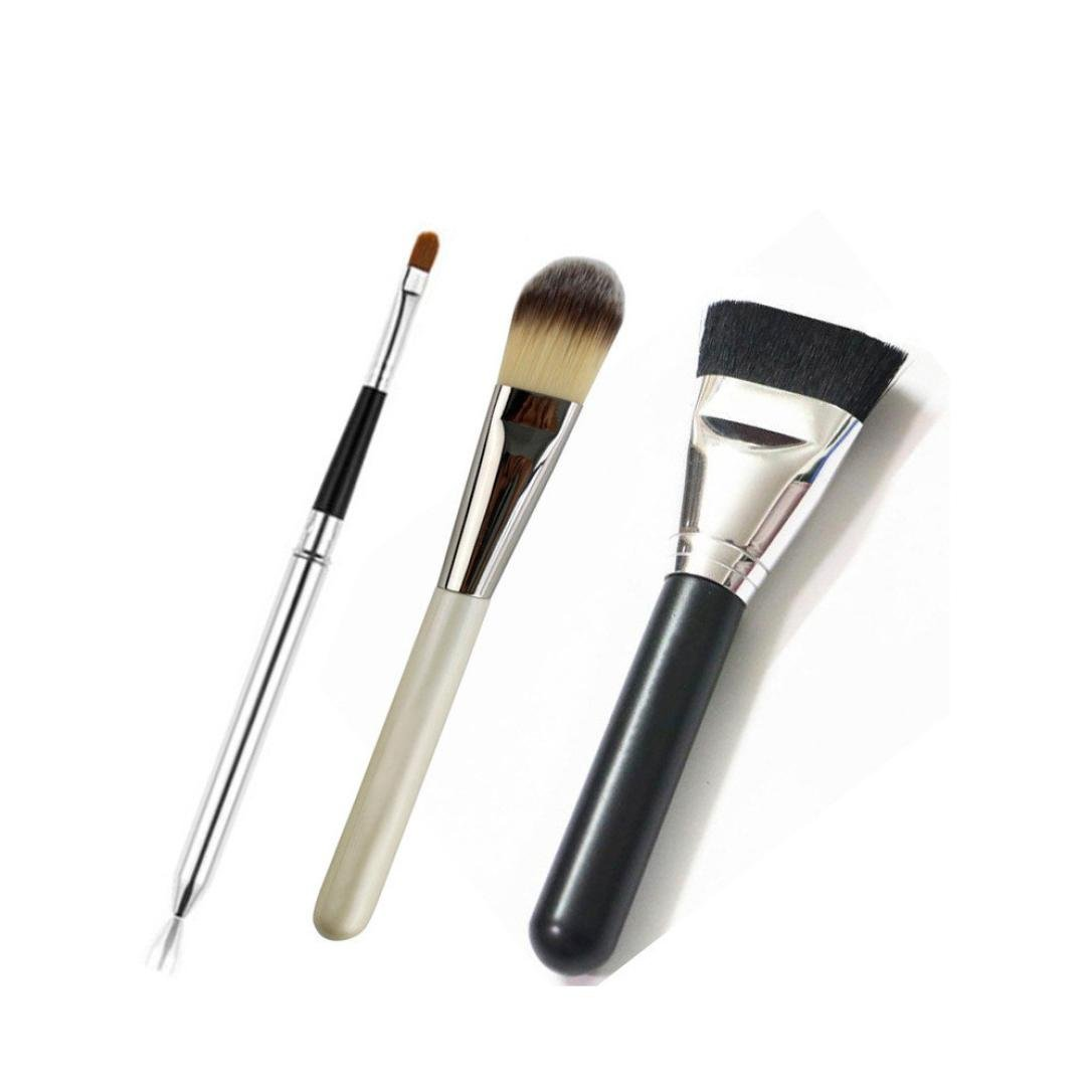 Cheap Techniques Makeup Find Deals On Line At Real 1407 Blush Brush Get Quotations Fheaven 3pcs Cosmetic Core Collection Set