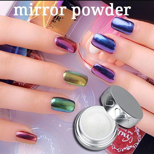 Souvent Vernis à ongles miroir effet glitter pigment chrome magique  ZV86