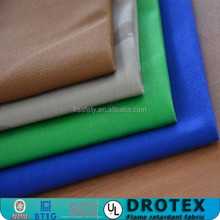 EN531 low formaldehyde antifire&water repellent fabric