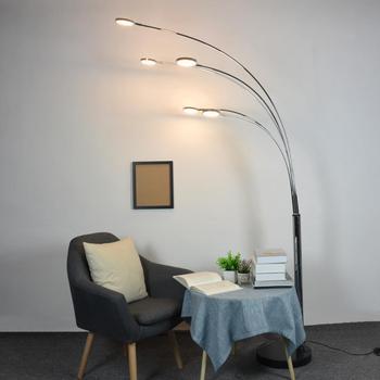 Arc 5 Arm Sectional Floor Lamp