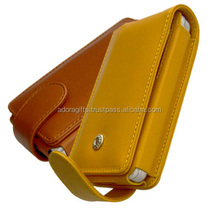 fashion design leather mobile pouch / leather mobile phone cover wholesalers / famous name brand cell phone cases