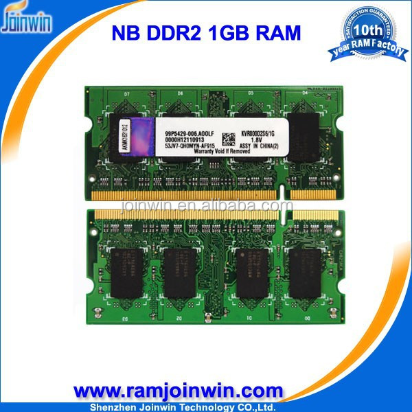 Joinwin Full compatible 64mb*8/16c Cheap pc800 ddr2 1gb ram