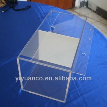 Hot Small Custom Clear Acrylic Aquarium Box With Light