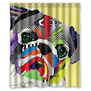 Funny Dog Shower Curtain