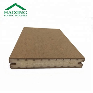 Recycled Plastic Lumber Outdoor Decking Flooring Boards Plank