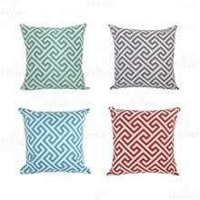 Cotton linen throw pillow caso capa <span class=keywords><strong>de</strong></span> almofada decorativa para sofá travesseiro
