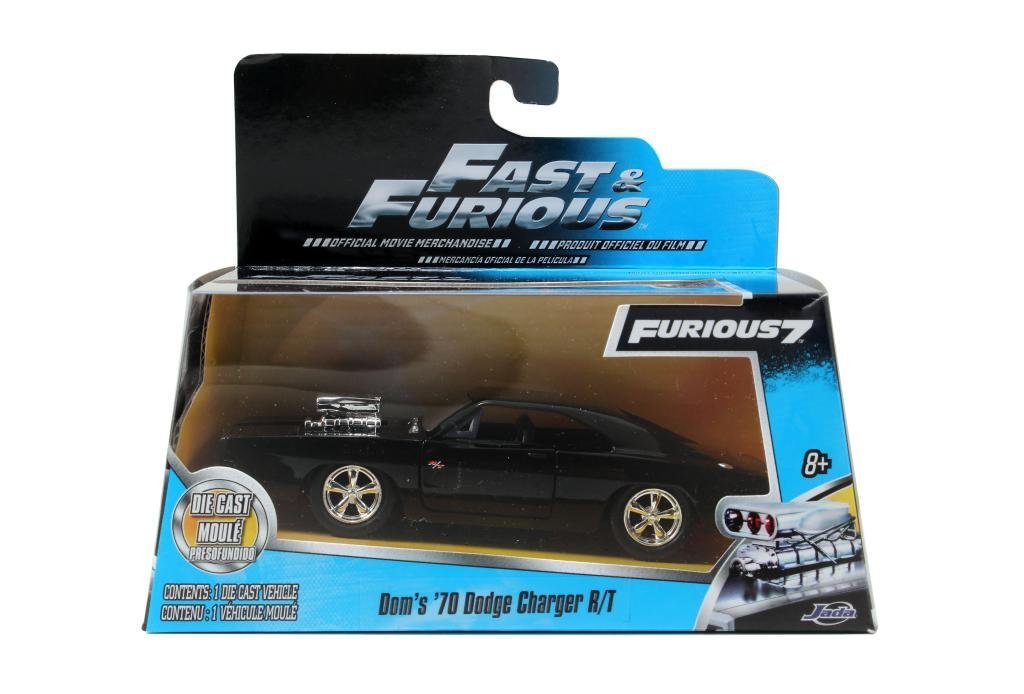 Fast Furious 7 Dom's Dodge Charger R/T 1:32 Scale