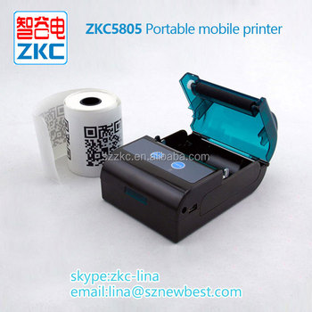 Zkc Bluetooth Thermal Printer Support Ios Android Offer Sdk For Free - Buy  Bluetooth Thermal Printer Portable,Bluetooth Thermal Printer