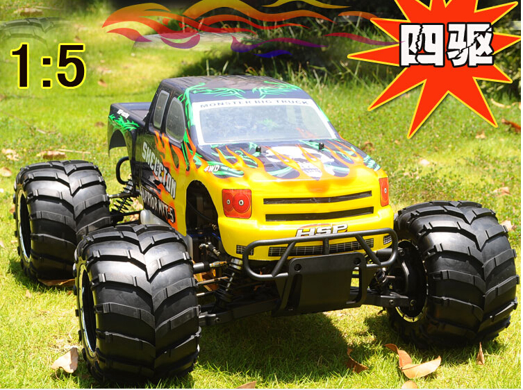 1 5 scale gas powered rc cars rc trucks monster with 30cc rc gas engine