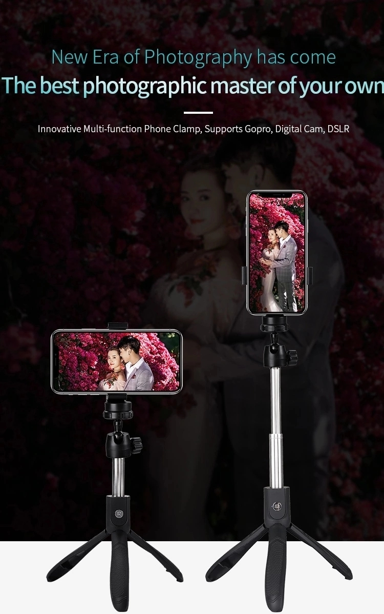 2019 Amazon Sell  remote control Selfie Stick for Smartphone
