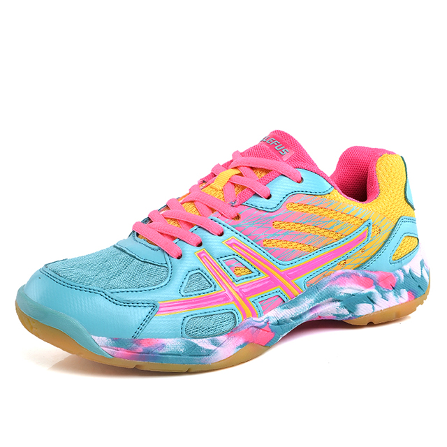 2019 new high quality Sports Training Shoes badminton shoes for women men фото