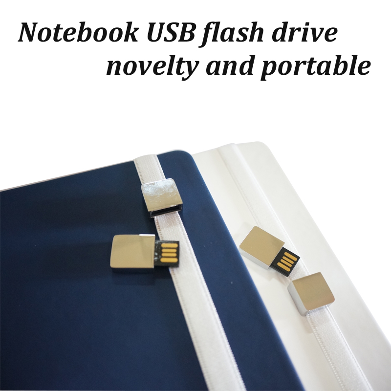 Notebook USB Flash Drive / Book with USB Flash Drive / Journal USB Flash Drive