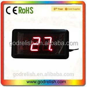 "Godrelish 1.8"" indoor Red 999 days Led counter digital countdown timer"
