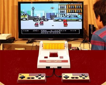 Good fc compact video game console family computer for fc nes sega good fc compact video game console family computer for fc nes sega games include 232 games publicscrutiny Images