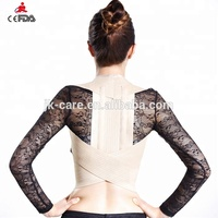 Back Brace Posture Corrector Best Fully Adjustable back Support Brace Improves Posture