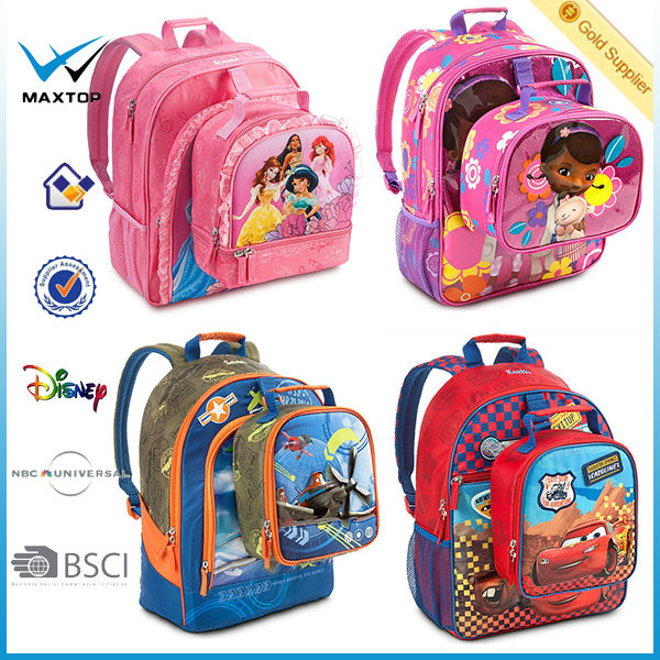 Barbies Large Girls Kids School Back Pack With Detachable Lunch ...