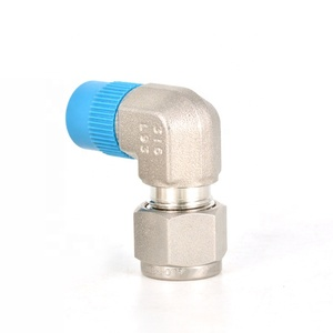 Stainless Steel Hydraulic Double Ferrule Elbow Compression Fittings