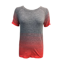 OEM/ODM wholesale blank t-shirts athletic fit t-shirts women short sleeve seamless gym shirt t-shirt