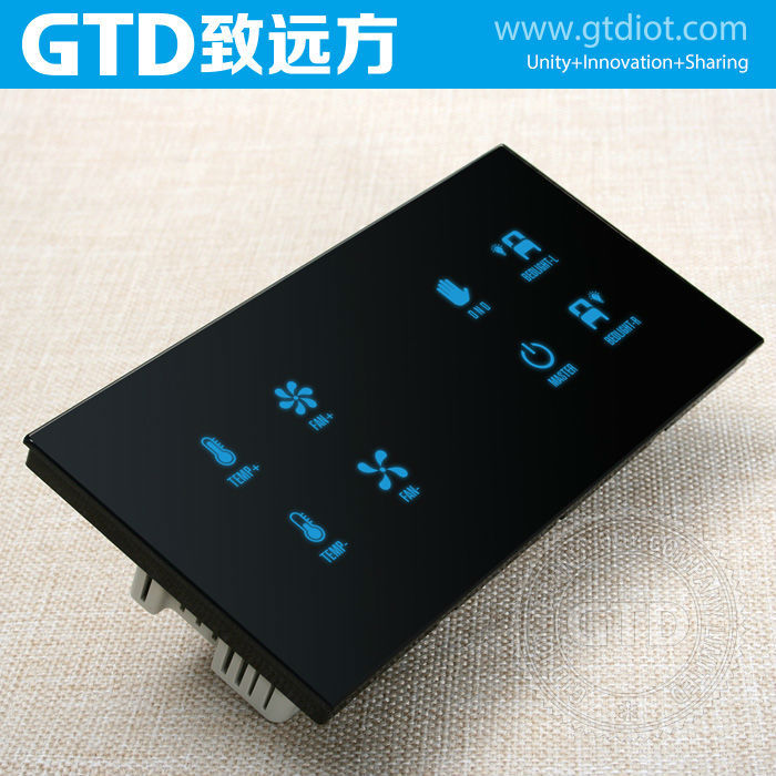 12v Dc Capacitive Touch Control Panel Switches,8-way Bed Control ...