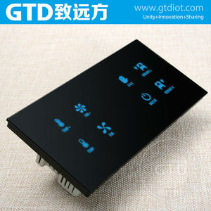 12V DC capacitive touch control panel switches, 8-way bed control panels, apply to the hotel guest room control system