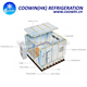 frozen fish ice maker cold storage room refrigeration equipment