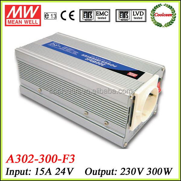 Meanwell A302-300-f3 300w Dc To Ac Power Inverter 24v 230v