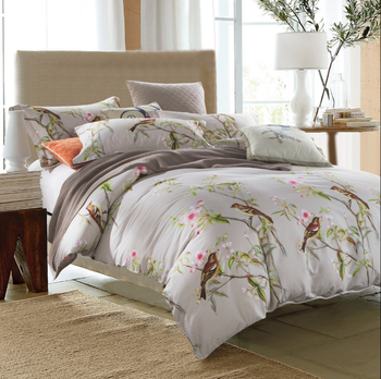 Printed Good Water Absorption Jersey Cotton Bed Sheets Direct Sale