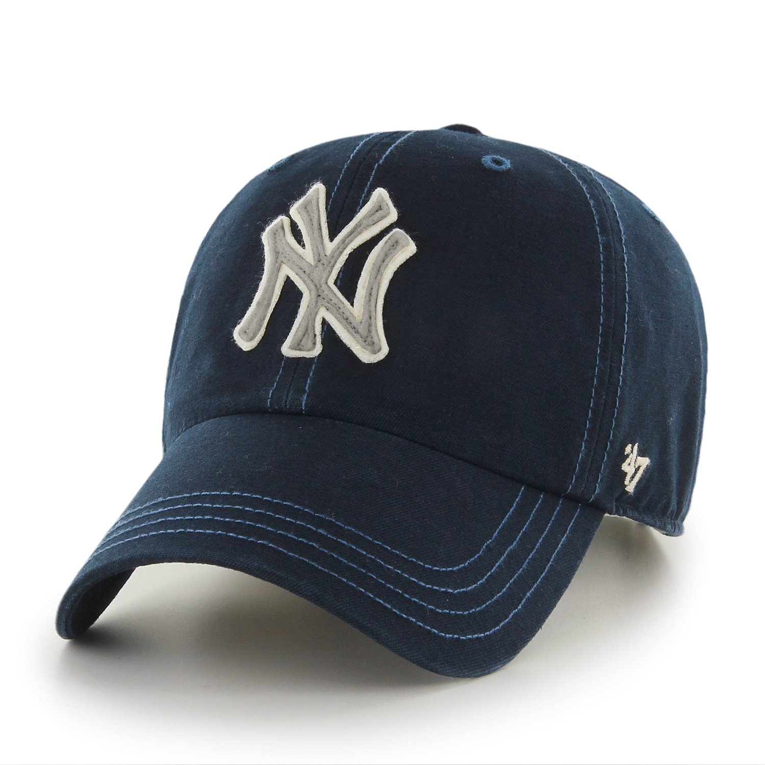 86755dd3f98 ... purchase get quotations new york yankees 47 brand mlb woodall  adjustable cotton twill hat 94f4c 1228c