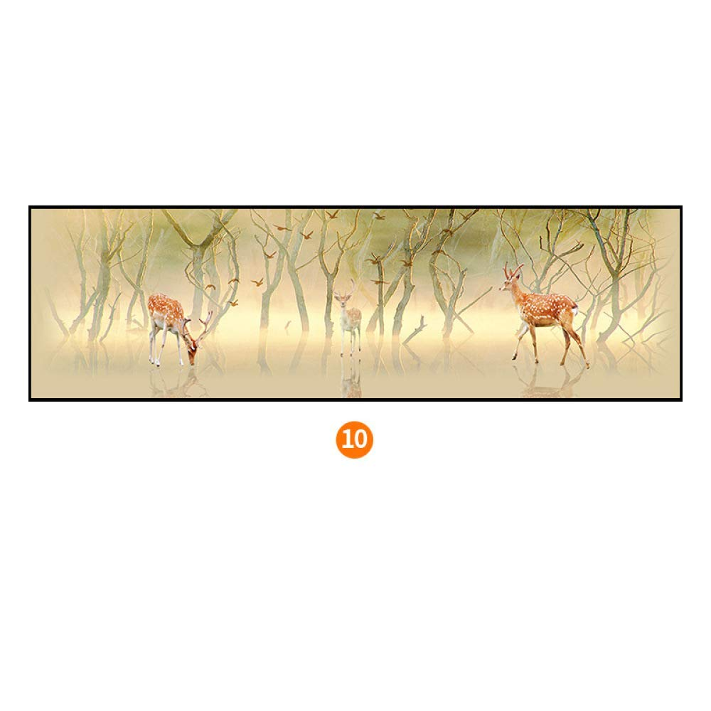 STTS Stylish elk bedroom bedside painting, modern minimalist framed Nordic decorative painting, framed wall paintings