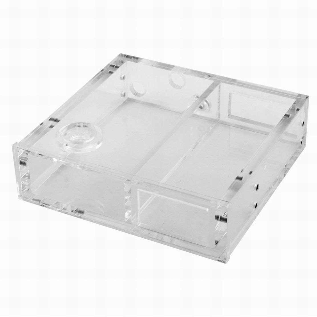 Ugtell Transparent Single CD Rom Acrylic Water Tank Reservoir for CPU Water Cooling
