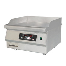 Commercial Stainless Steel Induction Griddle
